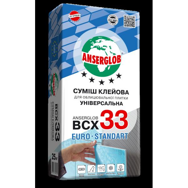 ANSERGLOB ВСХ-33 клей, 25 кг